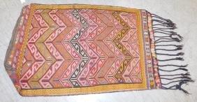 "5' x 3'2"" Turkish Jajim rug"