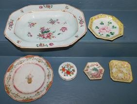 6 pieces Chinese export porcelain