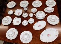 Approx 60 pcs. Bavarian Dresden china.