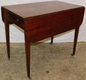 19th C 3 board top Pembroke table.