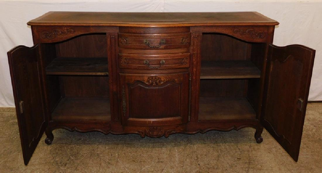 Country French oak sideboard. - 2