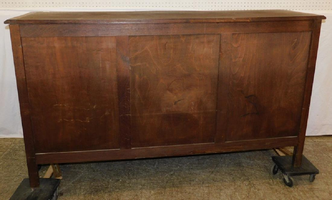 Country French oak sideboard. - 3