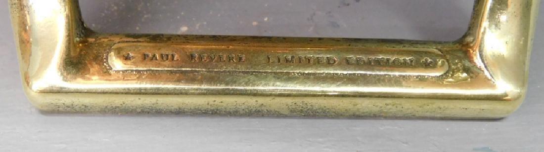 4 Paul Revere copper cooking pots, 4 copper pans - 2