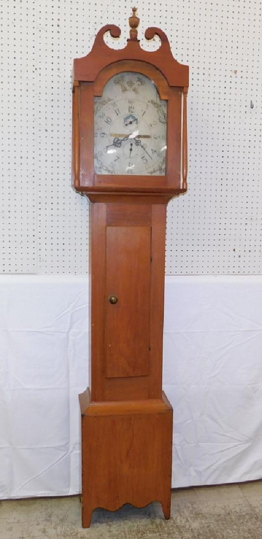 30 hour American GF wooden works clock