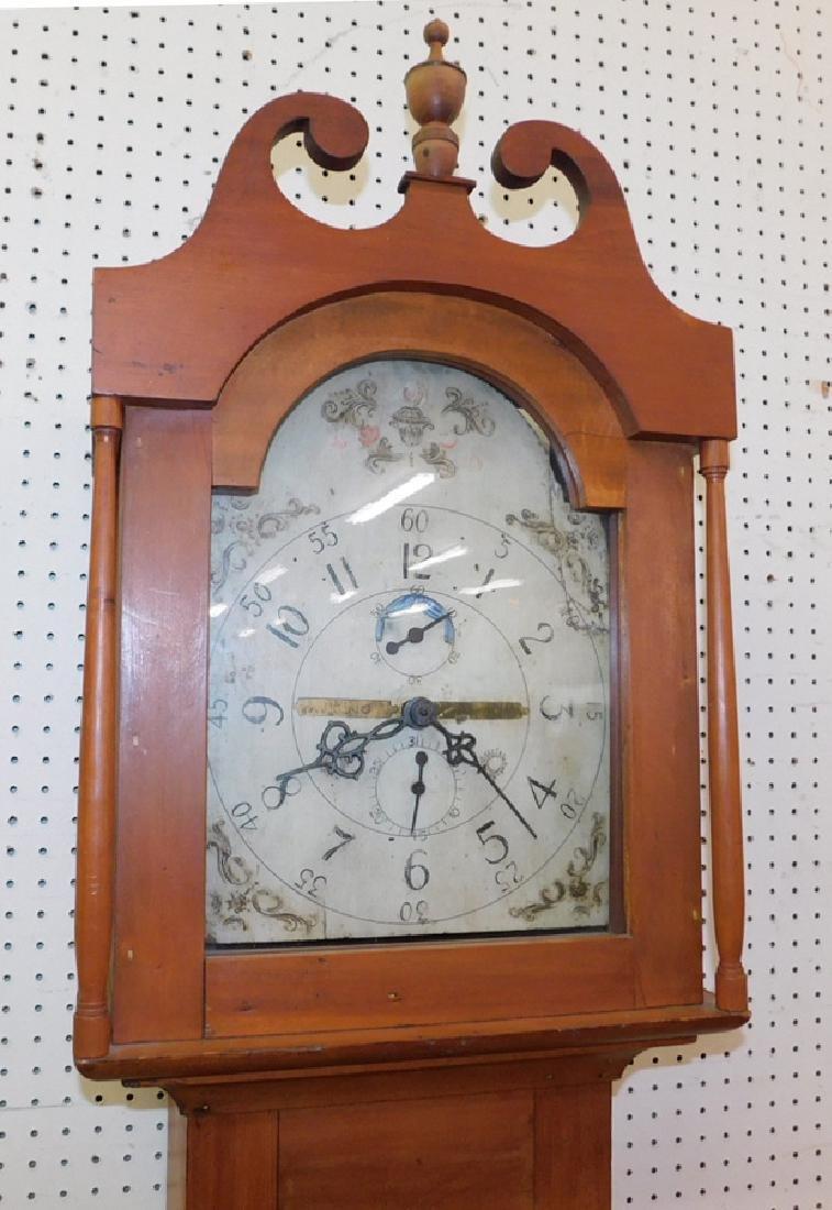 30 hour American GF wooden works clock - 2