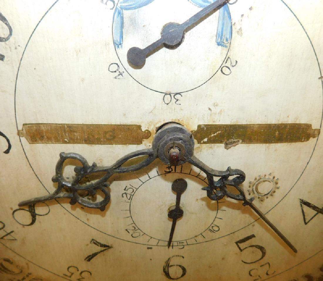 30 hour American GF wooden works clock - 3