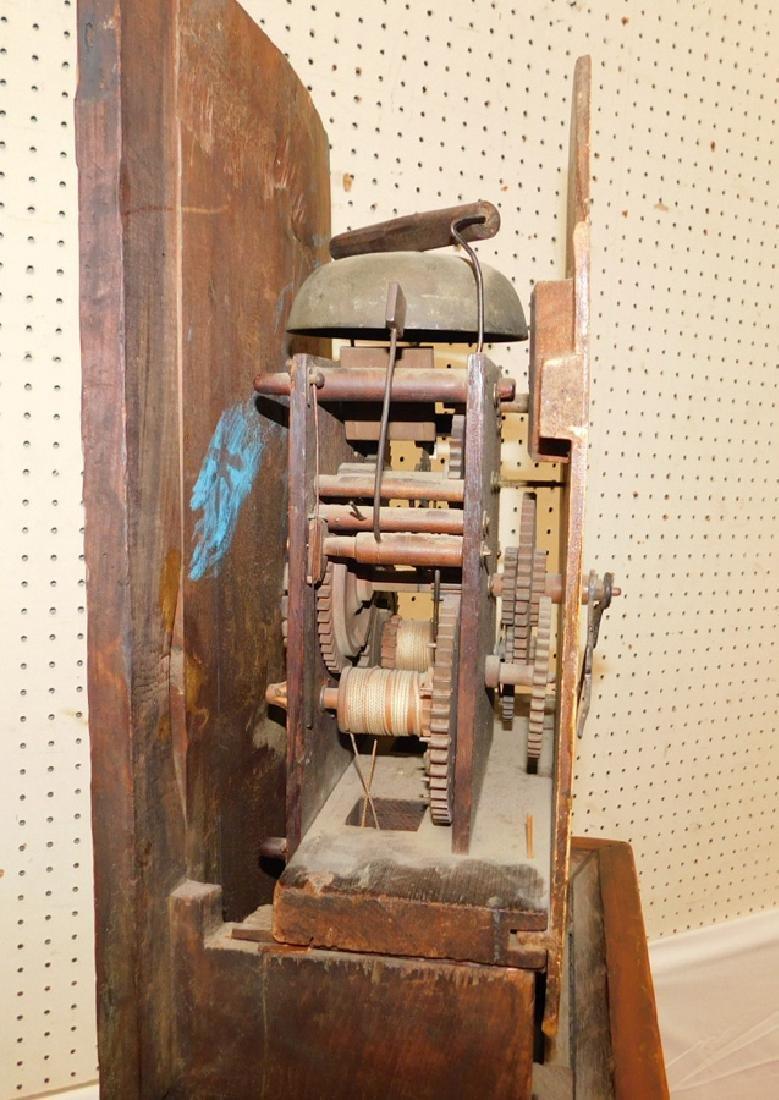 30 hour American GF wooden works clock - 5
