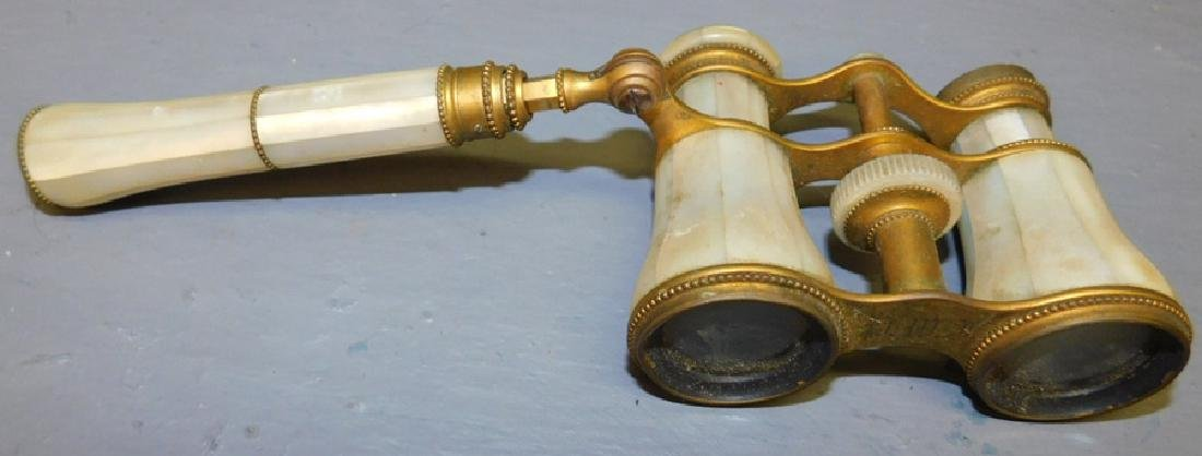 Mother of pearl opera glasses.