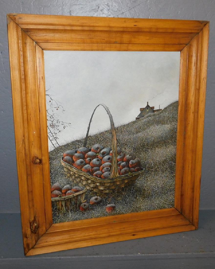 Eldridge Bagley folk art paintingv still life with