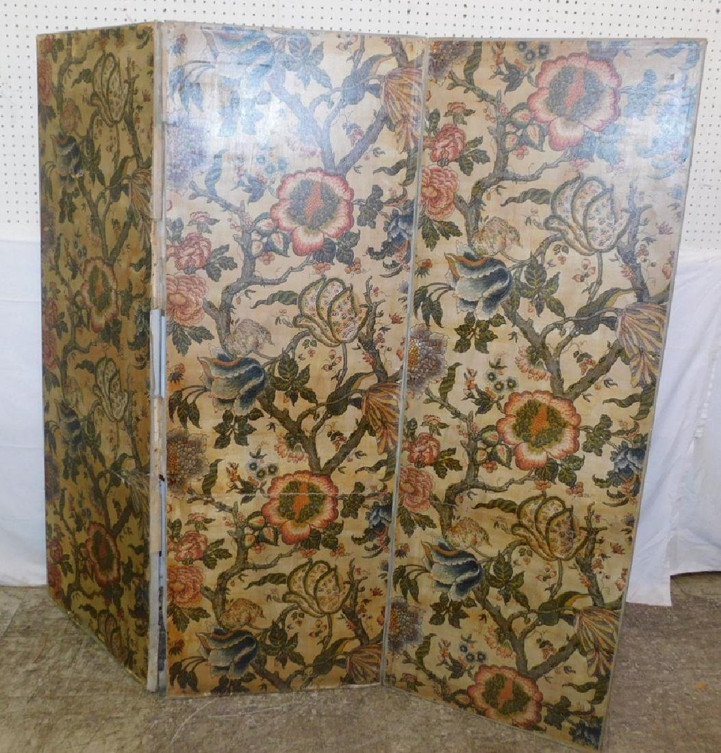 4 panel Italian scene painted decorators screen - 3