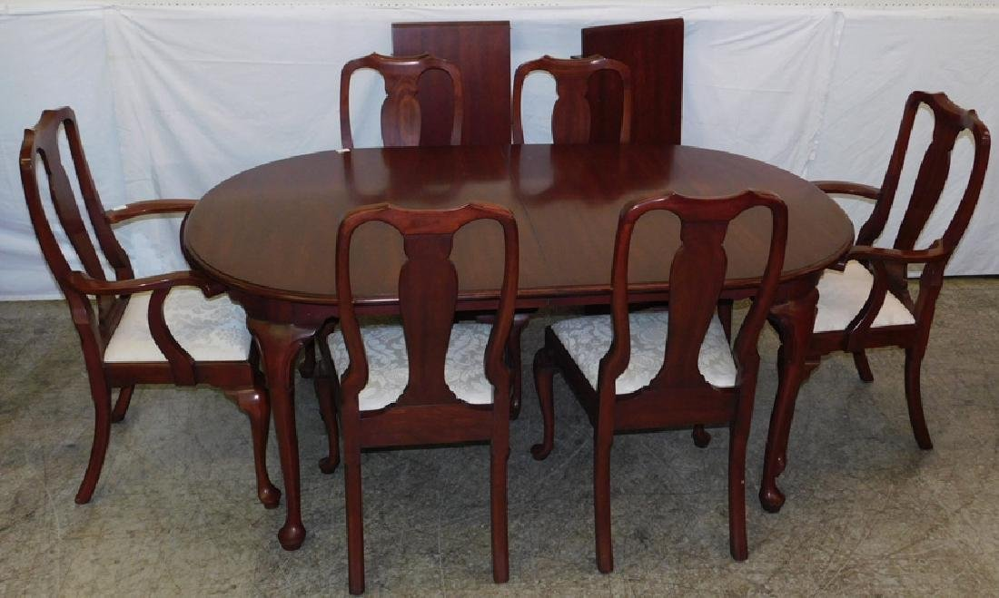 Henkel harris qa chairs bl cherry ped table 6 henkel harris qa chairs bl cherry ped table dzzzfo