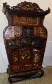 Fantastic Chinese Temple cabinet