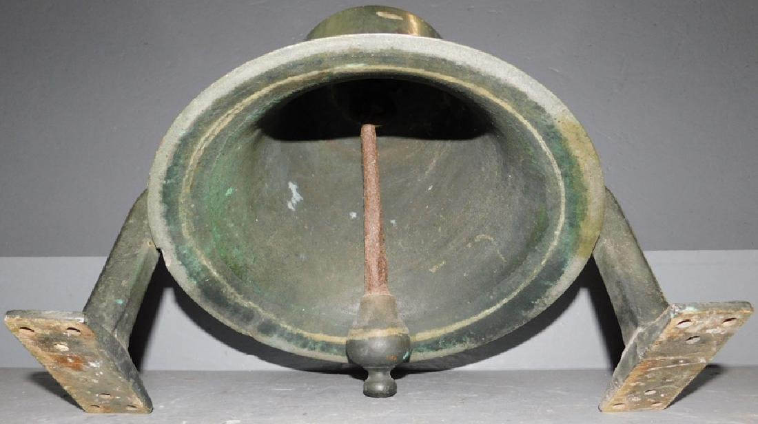19th C bronze bell. - 2