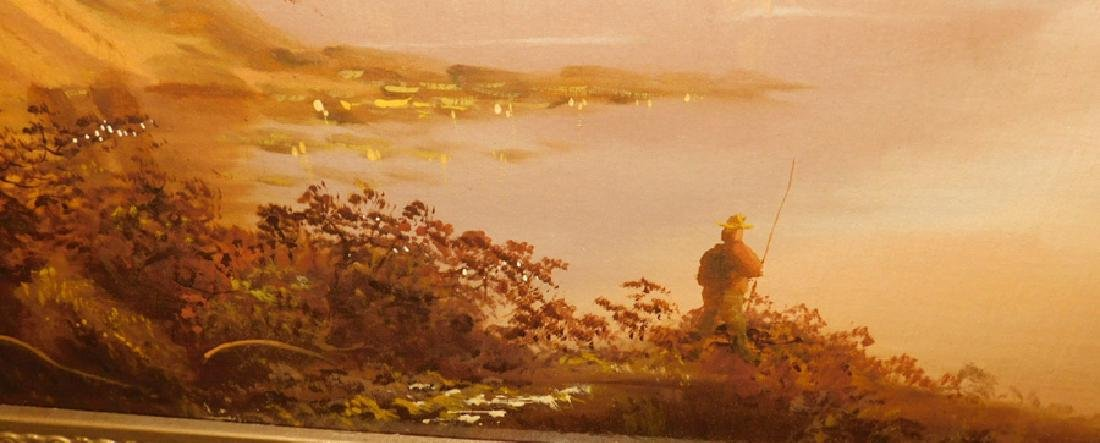 J. Davis OOC twilight lake scene. - 3