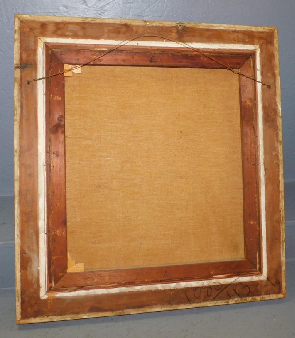 19th C OOC gilt framed portrait of lady - 3