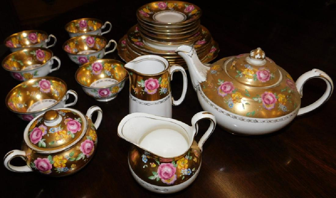 24 pc.  English dessert set by Chelsea.