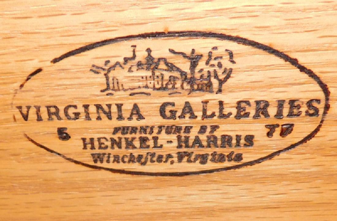 Mahogany double chest by Henkel Harris. - 3