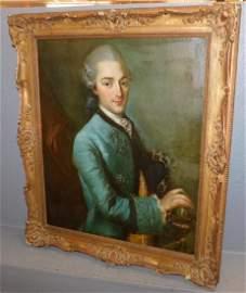 OOC portrait, Marquis Daubail by J.B.Perroneau