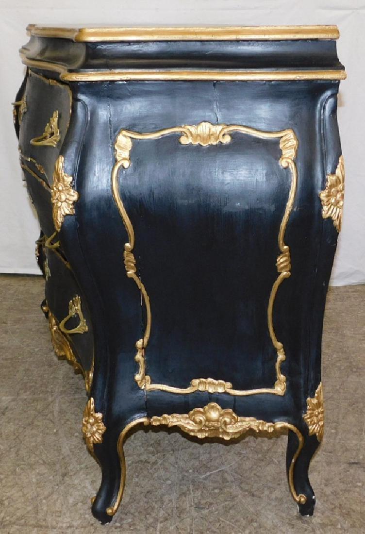 19th century Italian Rococo style commode. - 3