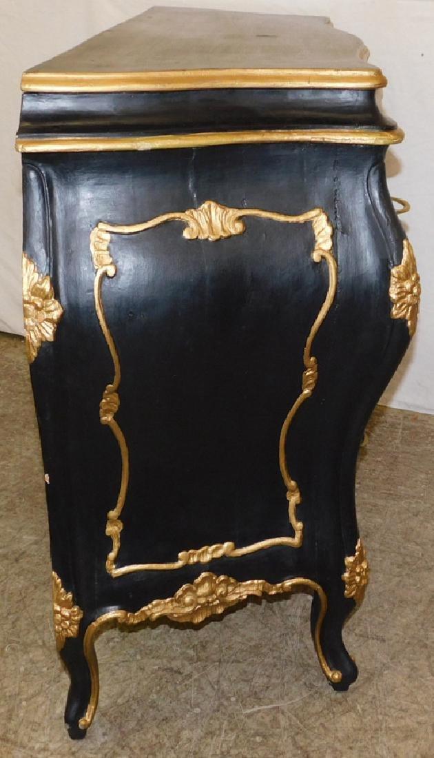 19th century Italian Rococo style commode. - 4