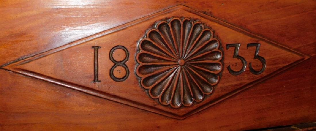 """1833 French """"wag on the wall"""" movement clock - 3"""