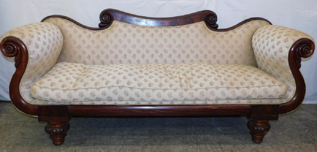 "Antique 19th century Federal sofa. 80"" long."