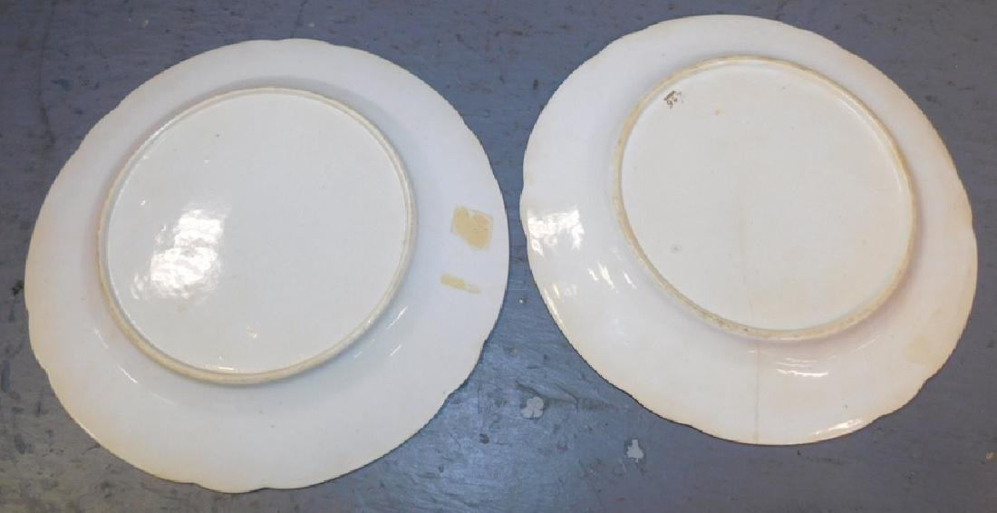 Pair of early 19th C Spode plates. (one has hairline) - 2