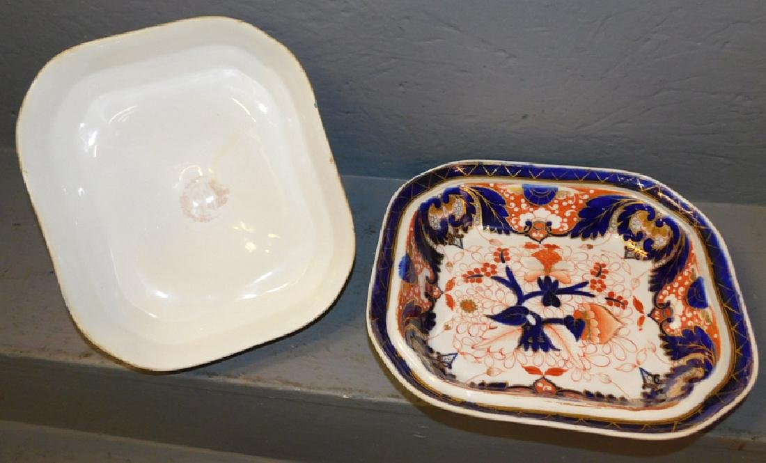 Chamberlains Worcester covered dish. - 3