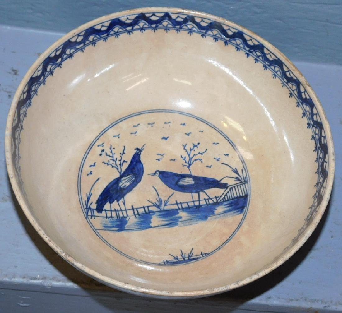"""Early 18th century Chinese bowl .9"""" dia. - 2"""