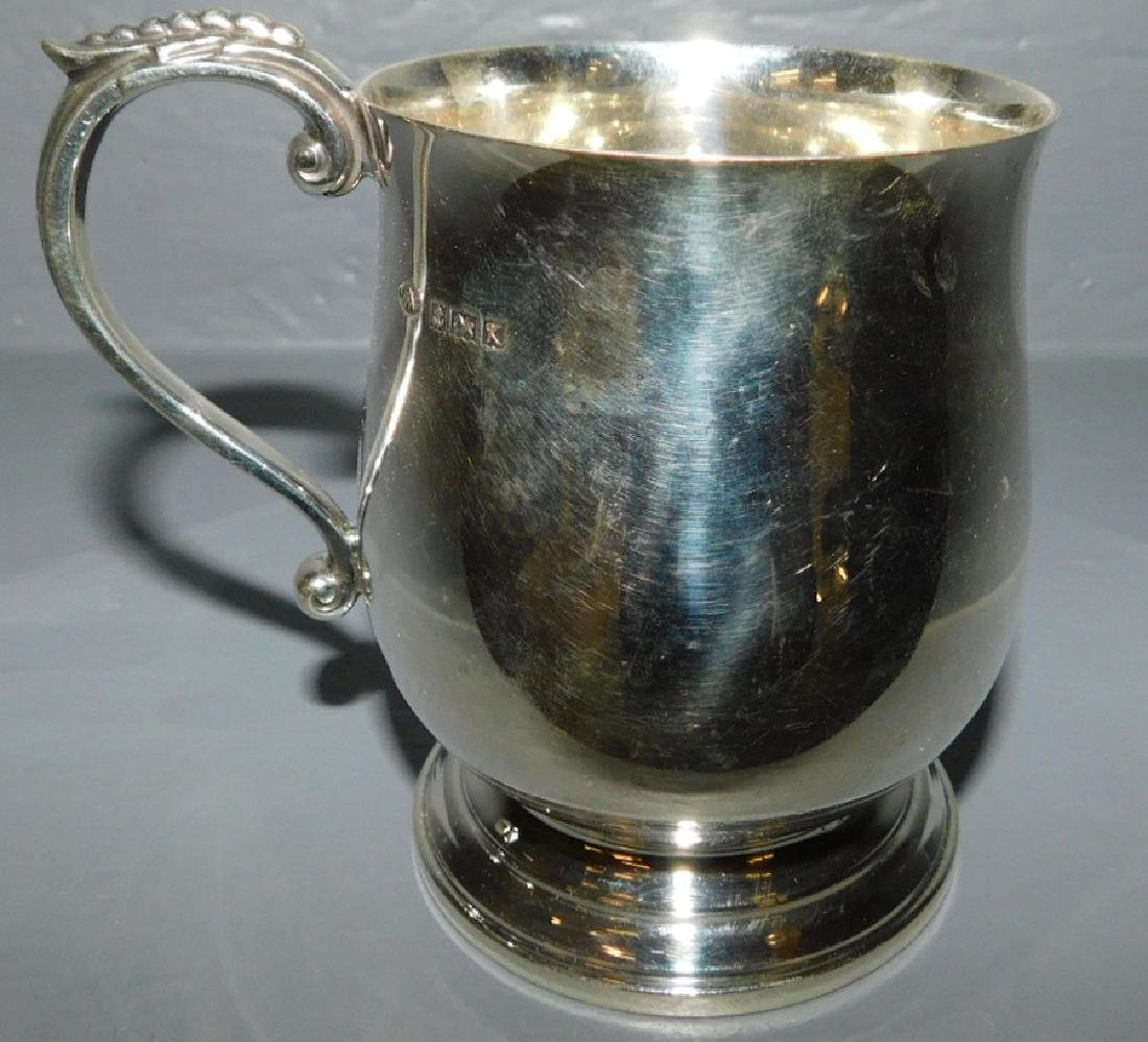 English sterling child's cup circa1960. 6.74 t.o.