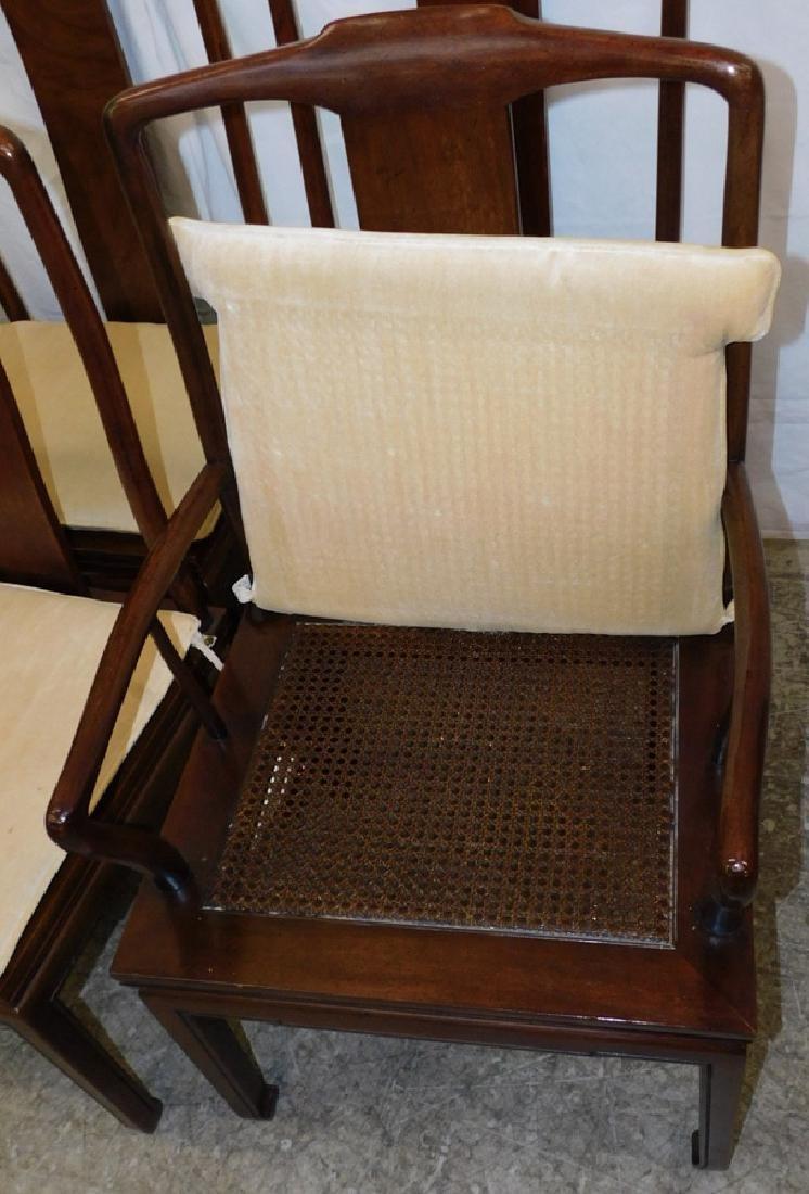 Set of 8 Henredon mahogany Chippendale chairs - 4