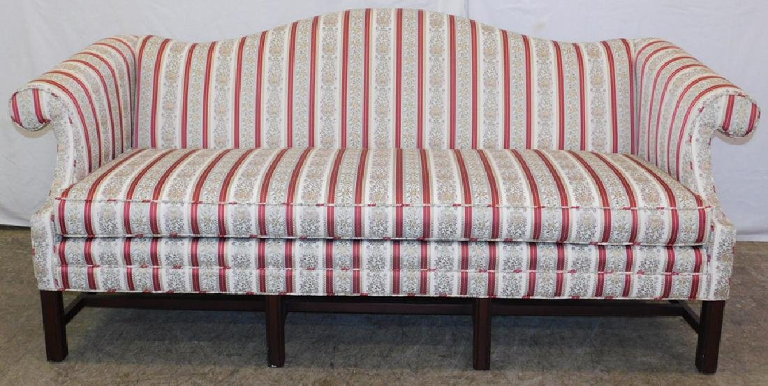 Chippendale sofa from Kinston Historical Society.