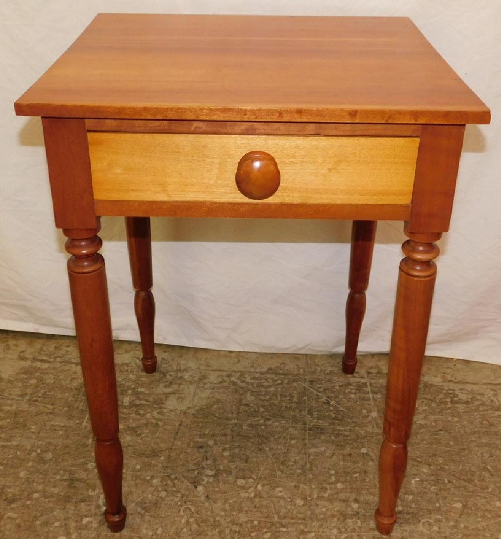 American cherry work table.