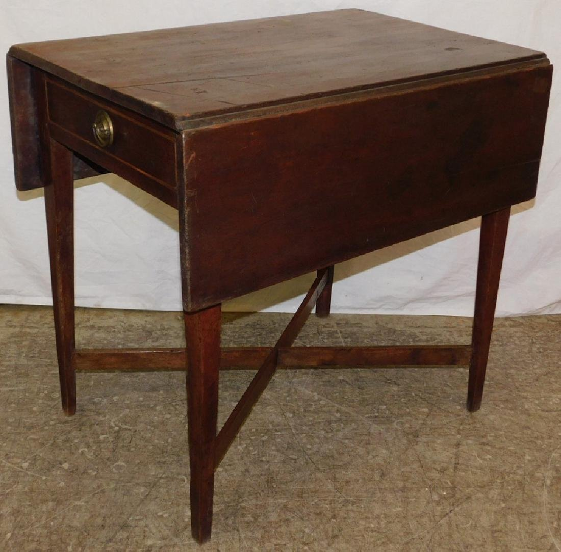 Late 18th/early 19th c wal stretcher base QA table