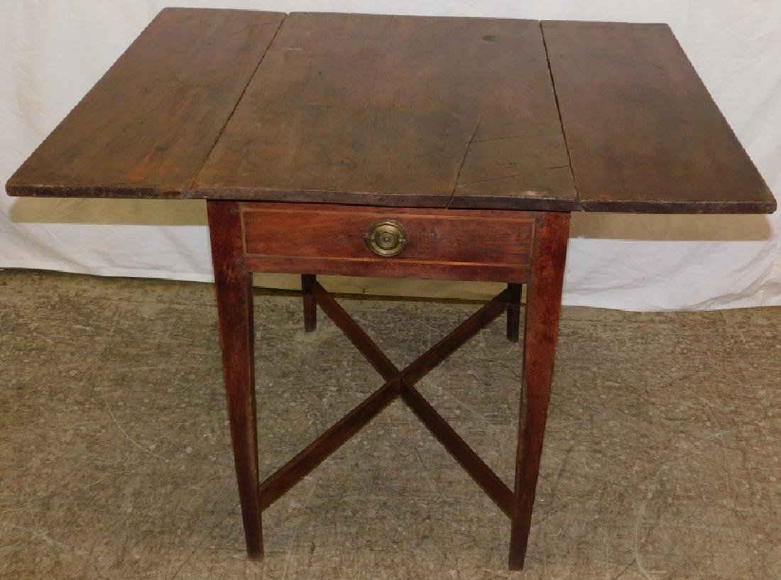 Late 18th/early 19th c wal stretcher base QA table - 2