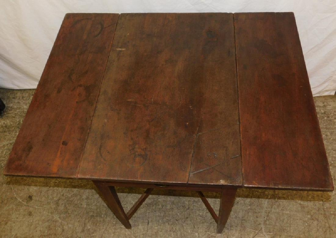 Late 18th/early 19th c wal stretcher base QA table - 3