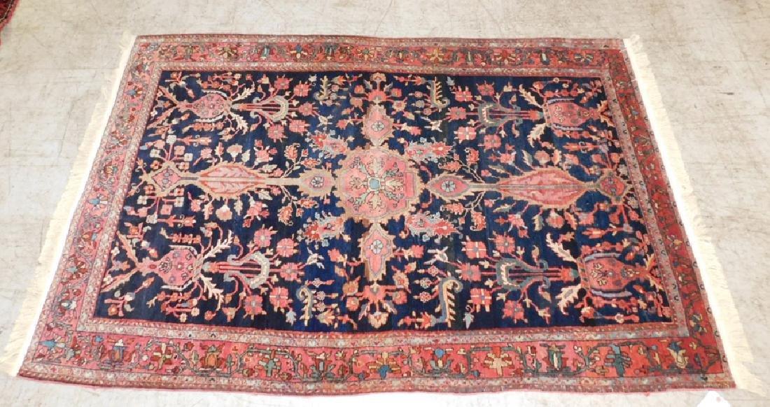 """6'10"""" x 4'3"""" antique Sarouk rug"""