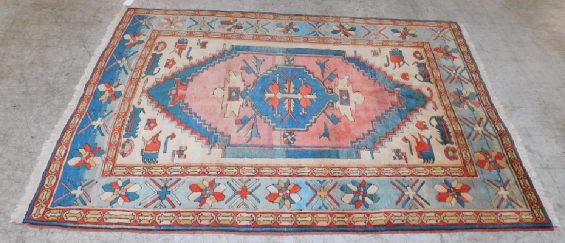 "8'8""x 5'10"" antique Oriental rug"