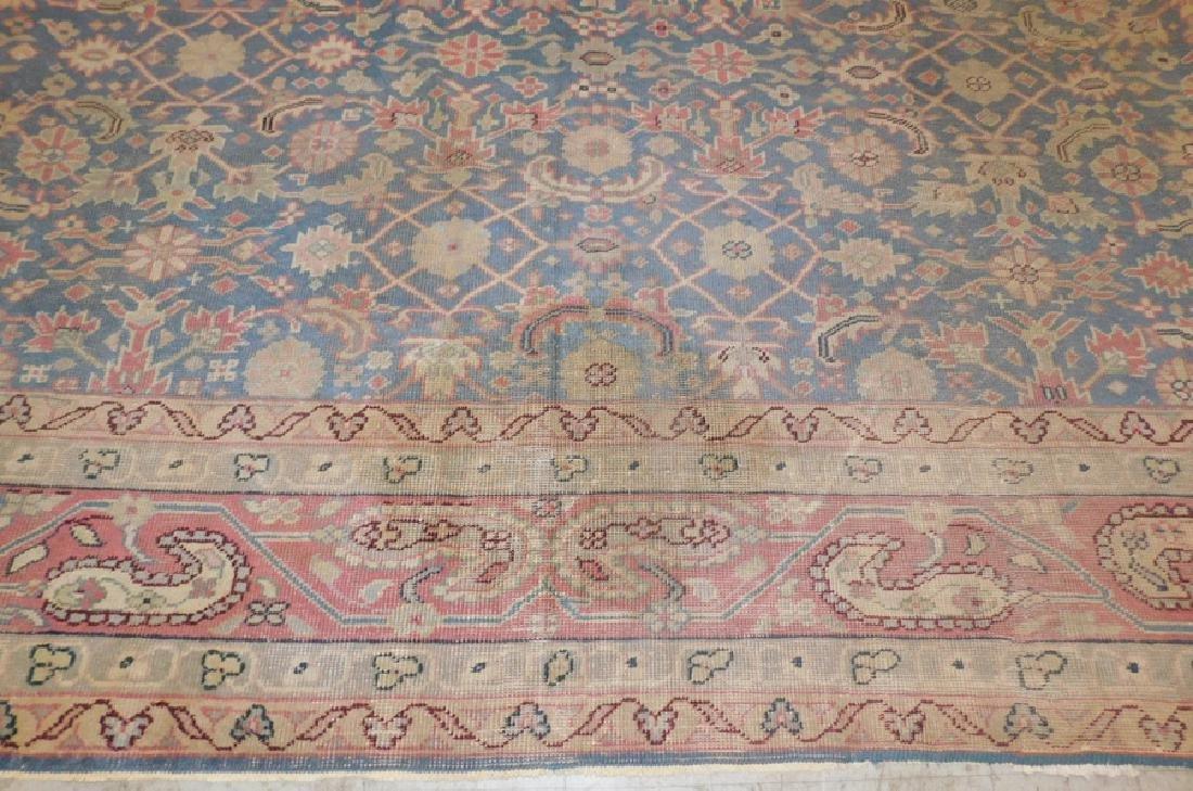 "12'2"" x 10'8"" antique Oriental rug - 3"