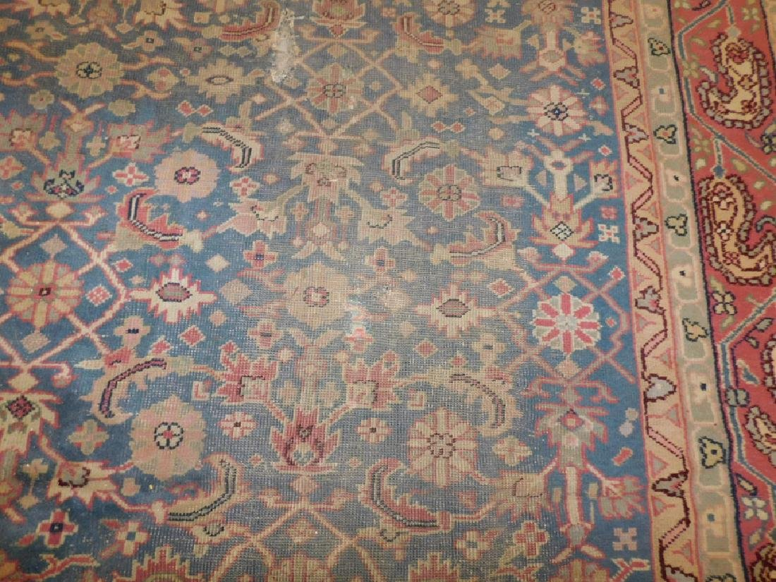 "12'2"" x 10'8"" antique Oriental rug - 4"