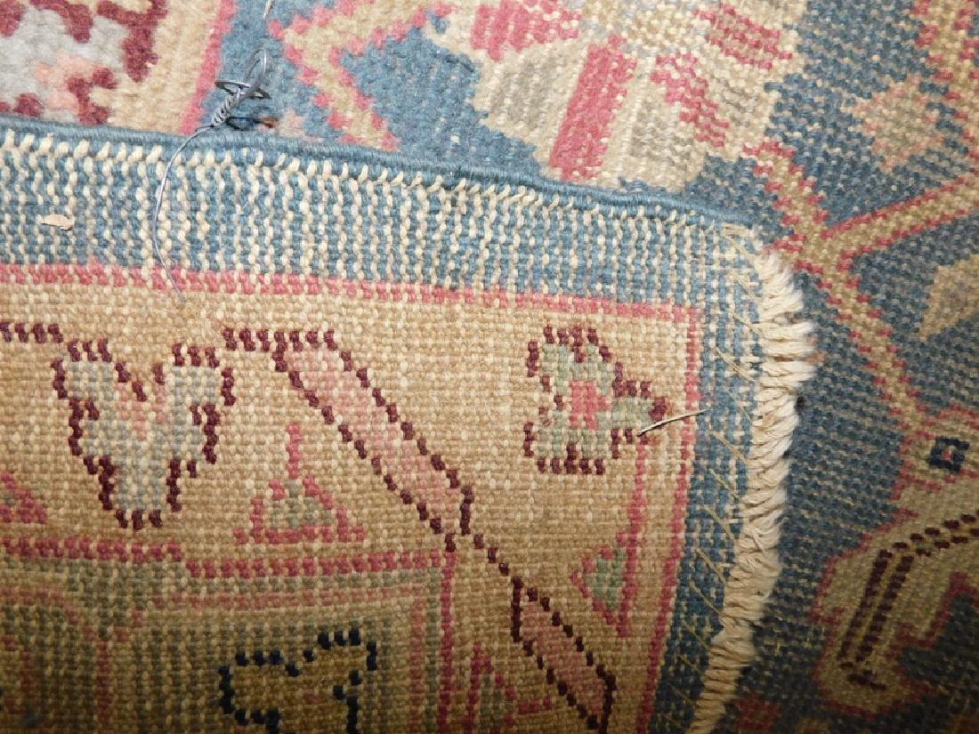 "12'2"" x 10'8"" antique Oriental rug - 7"