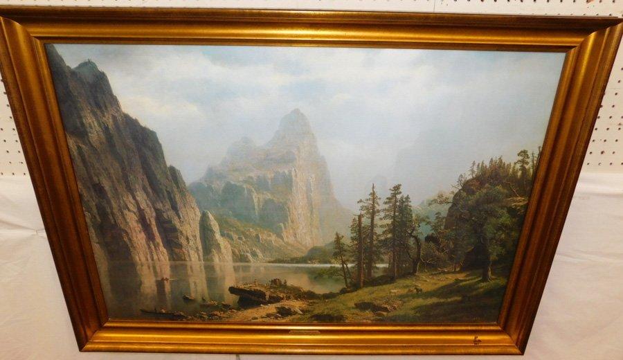 """Framed print """"Merced River, Yosemite """"."""
