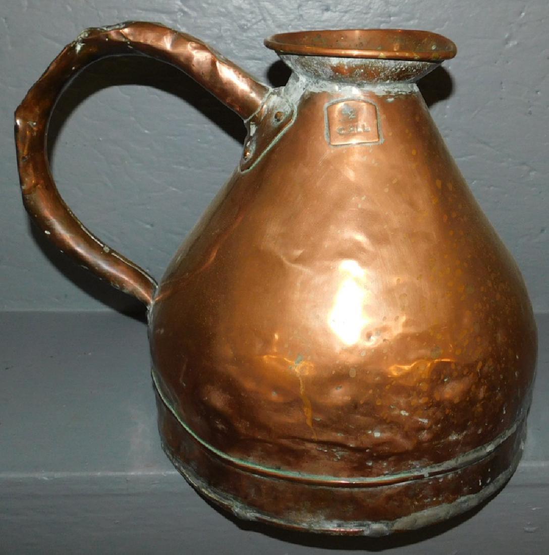 19th C copper measure.