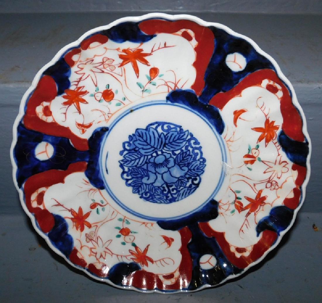 19th C Imari plate.