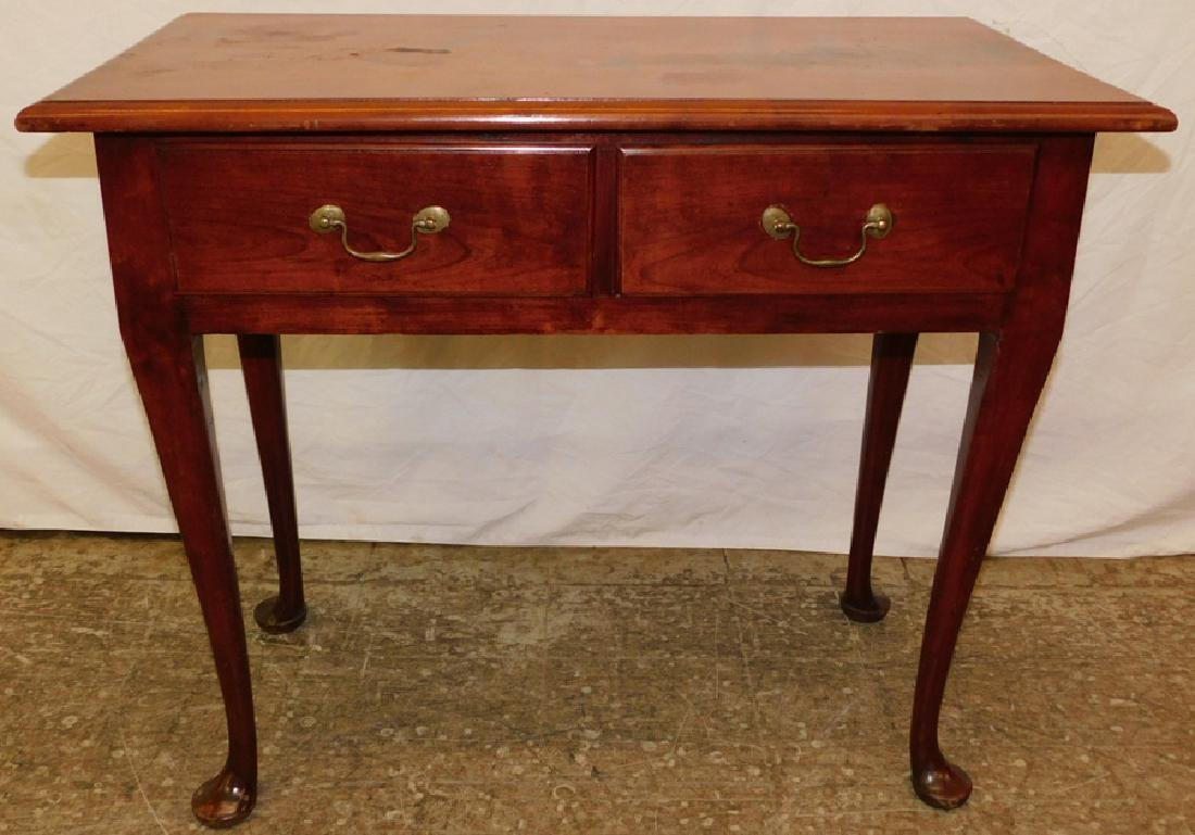 Cabinetmakers antique cherry QA dressing table.