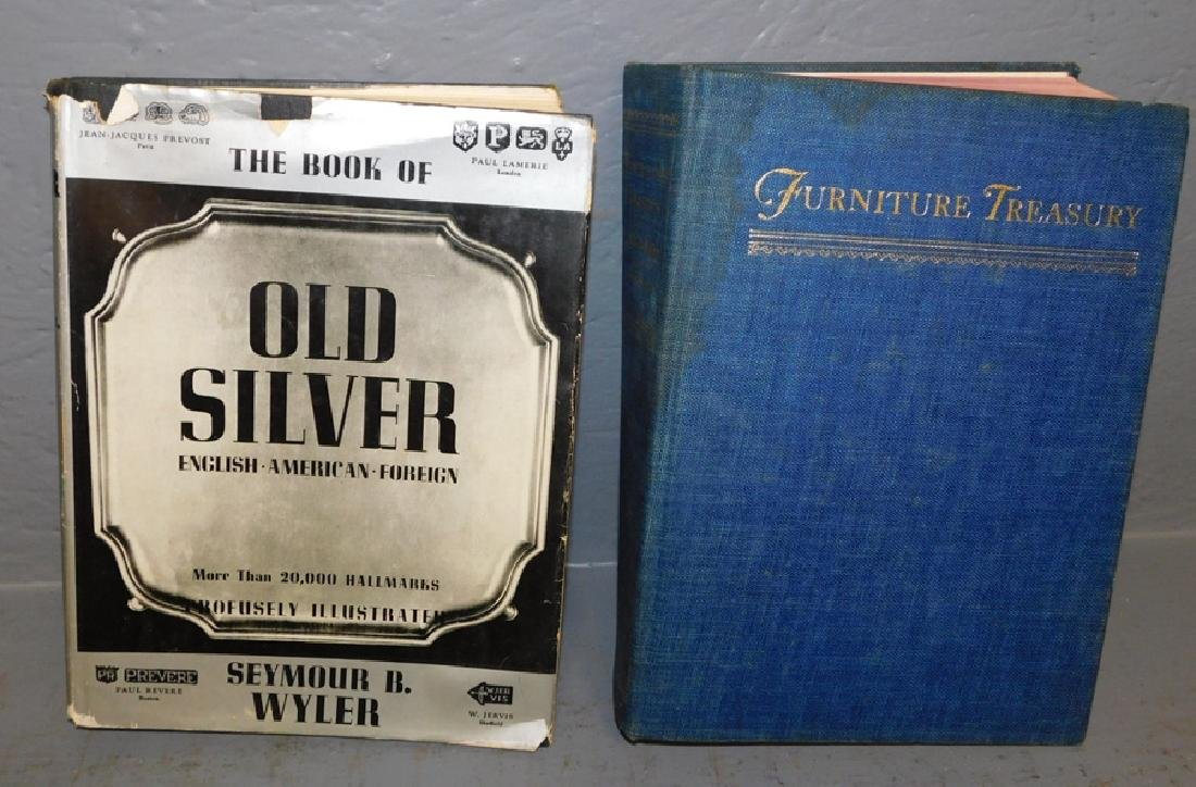 Book of Old Silver & Nutting antique ref. books.