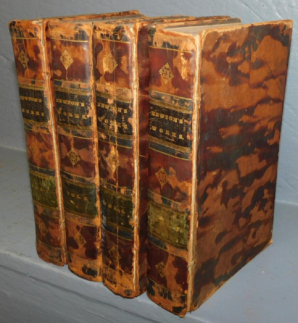 "4 volumes ""Life of John Newton"" Dated 1828."
