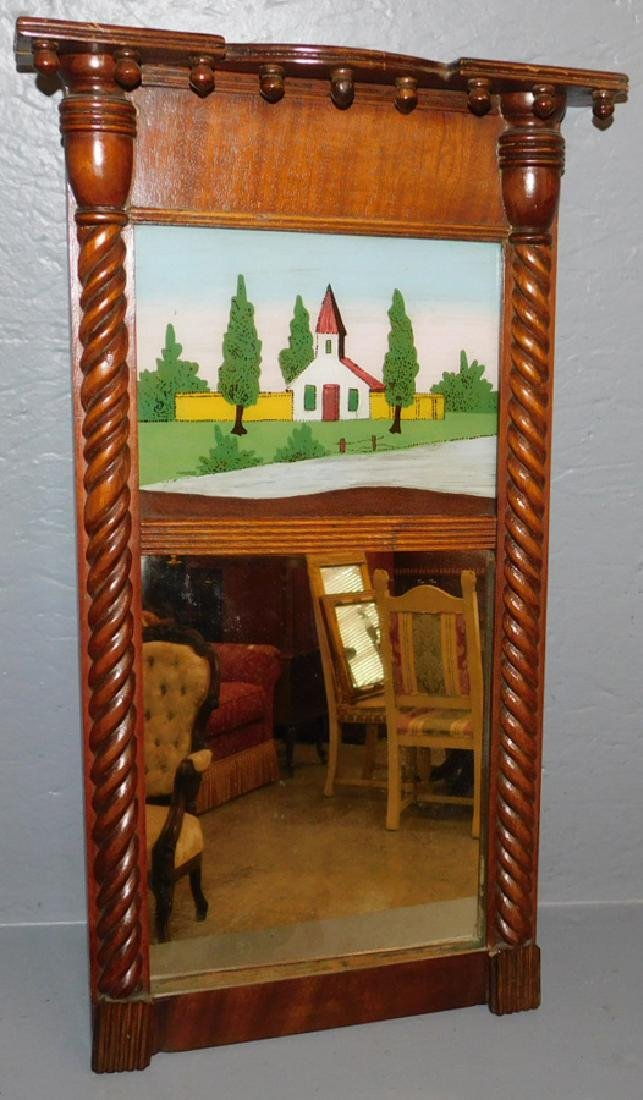 Federal reverse painted mirror.