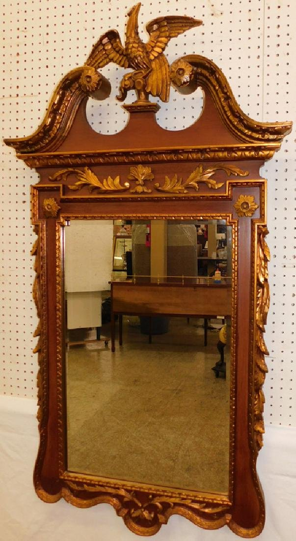 Chippendale Contemporary full eagle spread mirror