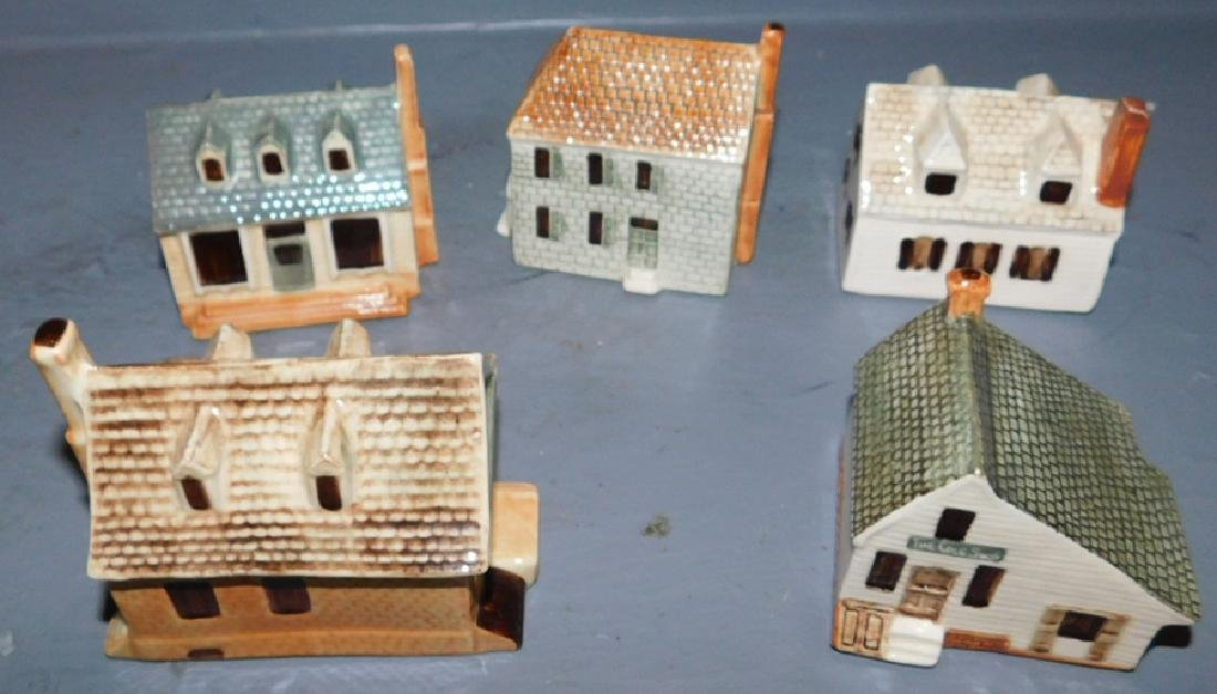 Staffordshire contemporary miniature cottages.